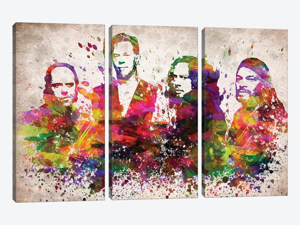 Metallica by Aged Pixel 3-piece Canvas Art
