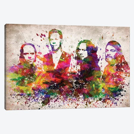 Metallica Canvas Print #ADP3046} by Aged Pixel Canvas Wall Art