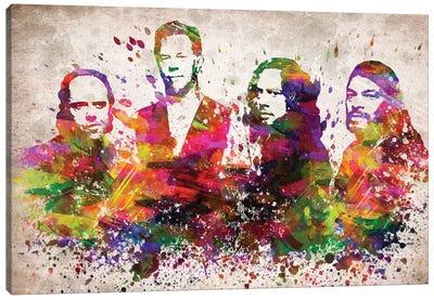 Metallica Canvas Art Print