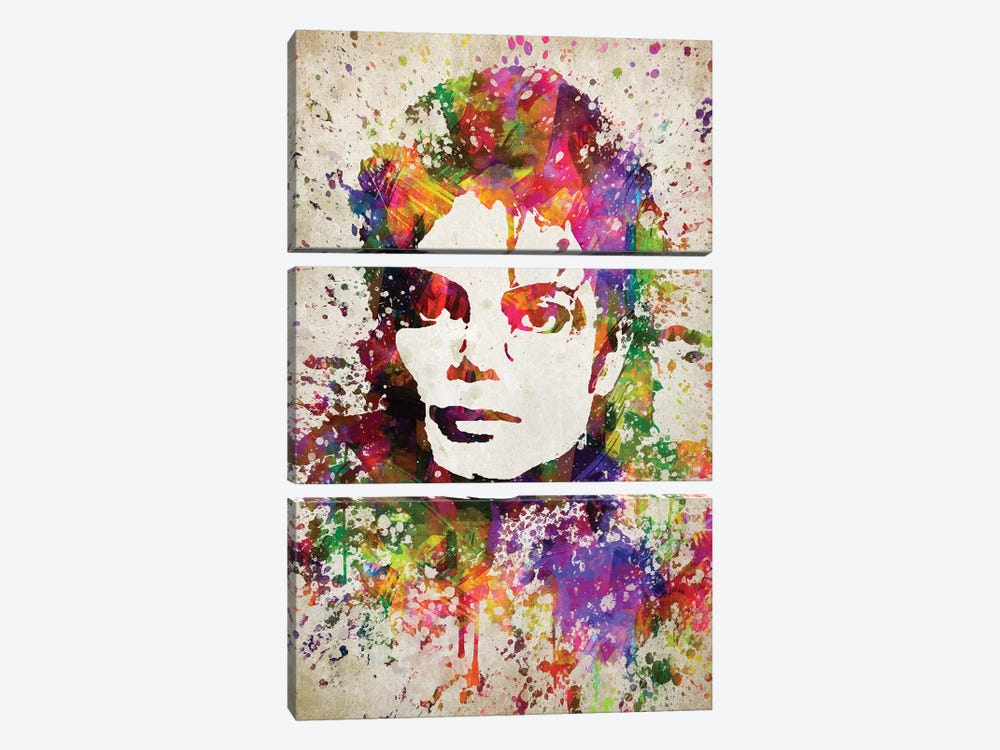 Michael Jackson by Aged Pixel 3-piece Art Print