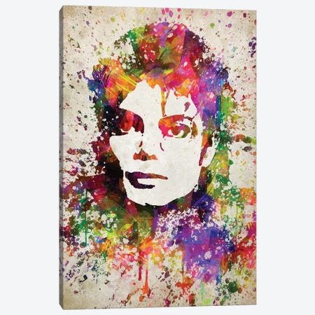 Michael Jackson Canvas Print #ADP3047} by Aged Pixel Canvas Artwork