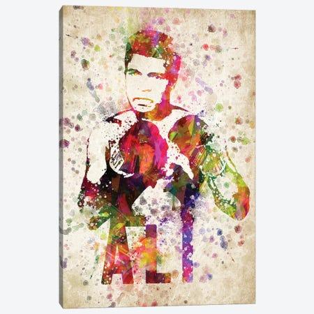 Muhammad Ali Canvas Print #ADP3049} by Aged Pixel Canvas Art Print
