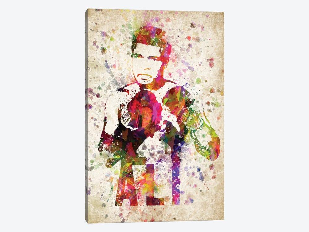 Muhammad Ali by Aged Pixel 1-piece Art Print