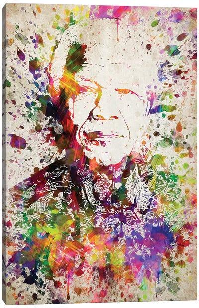 Nelson Mandela Canvas Art Print
