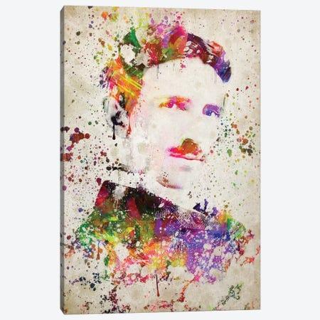 Nikola Tesla Canvas Print #ADP3054} by Aged Pixel Canvas Print