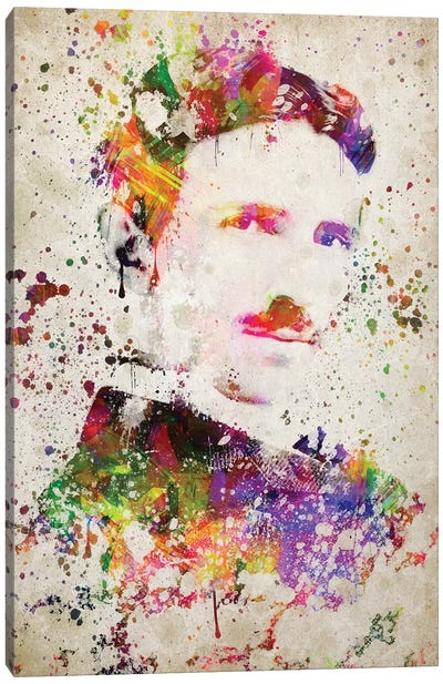 Nikola Tesla Canvas Art Print