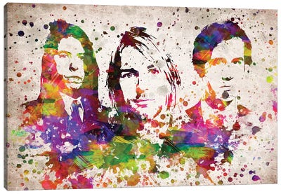 Nirvana Canvas Art Print
