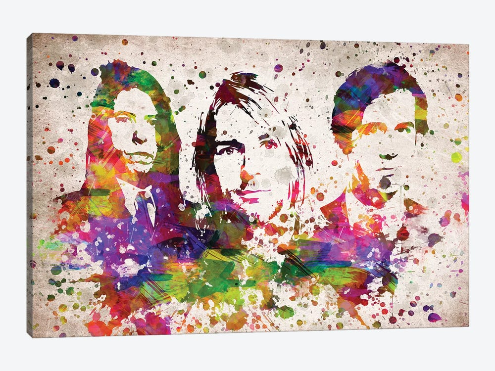 Nirvana by Aged Pixel 1-piece Canvas Art