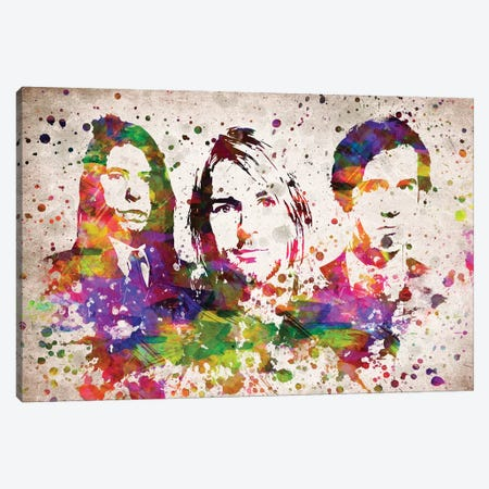 Nirvana Canvas Print #ADP3055} by Aged Pixel Canvas Art Print