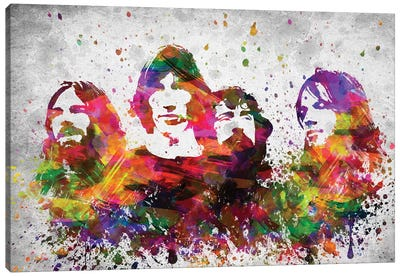 Pink Floyd Canvas Art Print