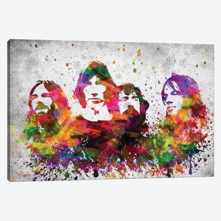 Pink Floyd Canvas Print #ADP3069} by Aged Pixel Canvas Print