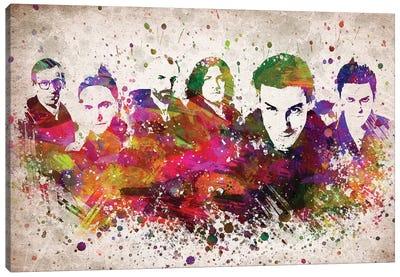 Rammstein Canvas Art Print
