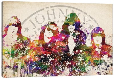 Ramones Canvas Art Print