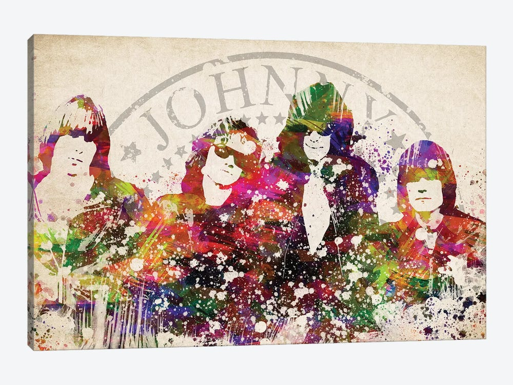 Ramones by Aged Pixel 1-piece Canvas Wall Art