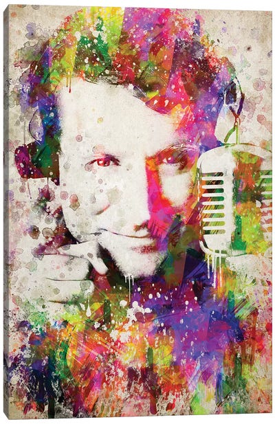 Robin Williams Canvas Art Print