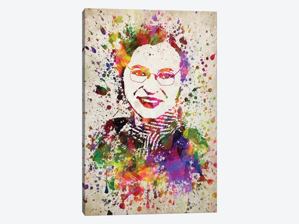Rosa Parks by Aged Pixel 1-piece Canvas Print