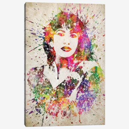 Selena Canvas Print #ADP3118} by Aged Pixel Canvas Print