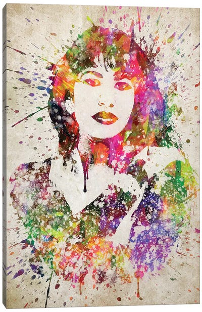 Selena Canvas Art Print
