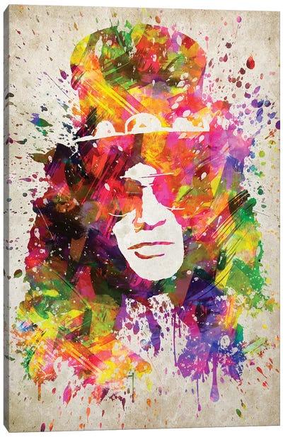 Slash Canvas Art Print