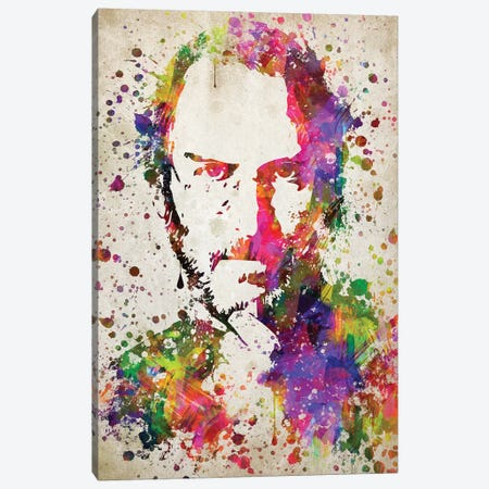 Steve Jobs Canvas Print #ADP3123} by Aged Pixel Canvas Wall Art
