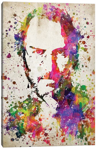 Steve Jobs Canvas Art Print