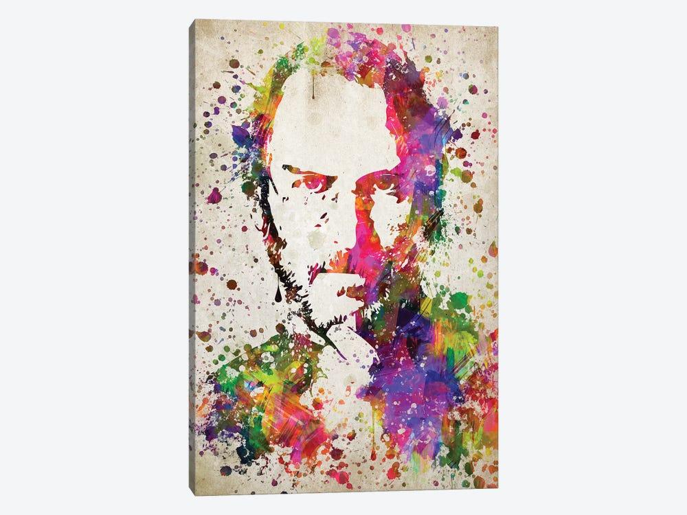 Steve Jobs by Aged Pixel 1-piece Canvas Wall Art