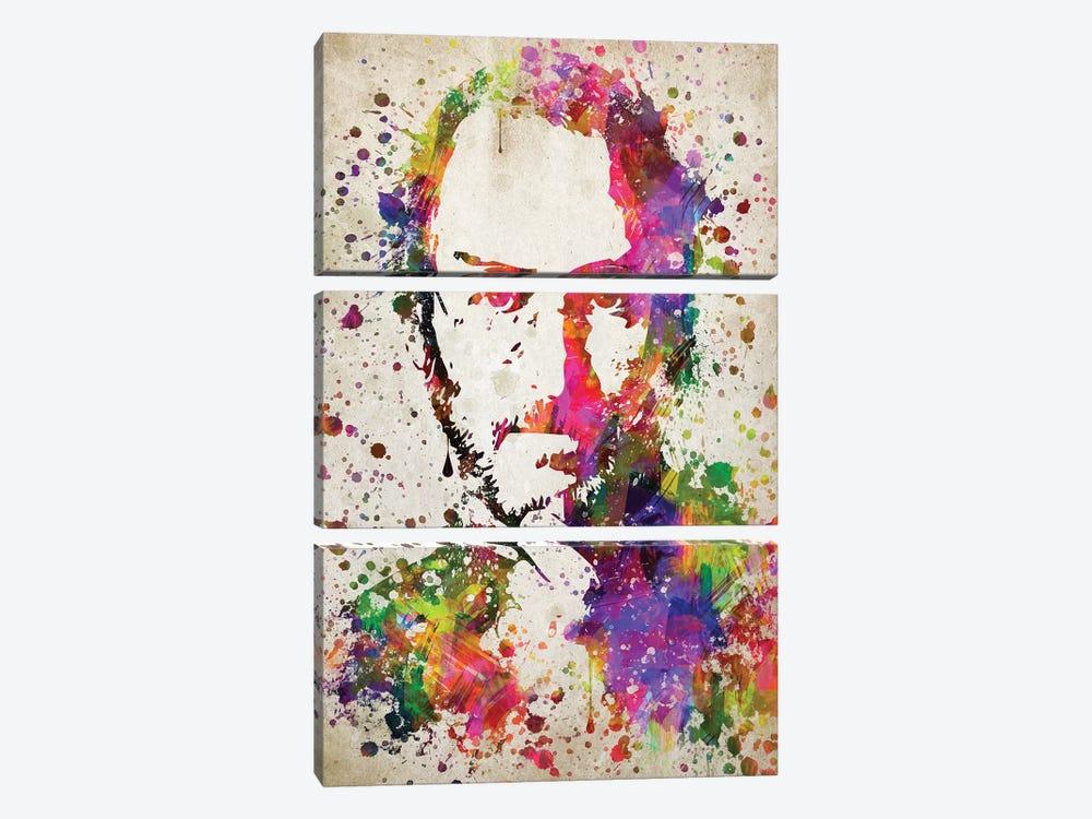 Steve Jobs by Aged Pixel 3-piece Canvas Wall Art
