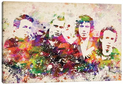 The Clash Canvas Art Print