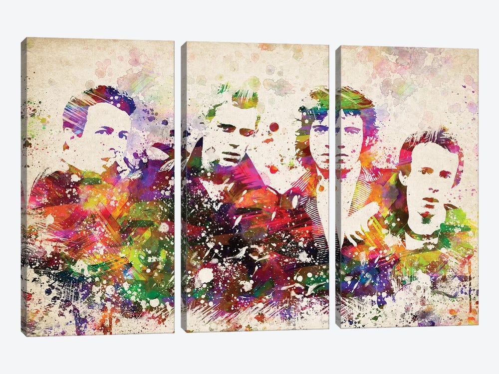 The Clash by Aged Pixel 3-piece Canvas Artwork