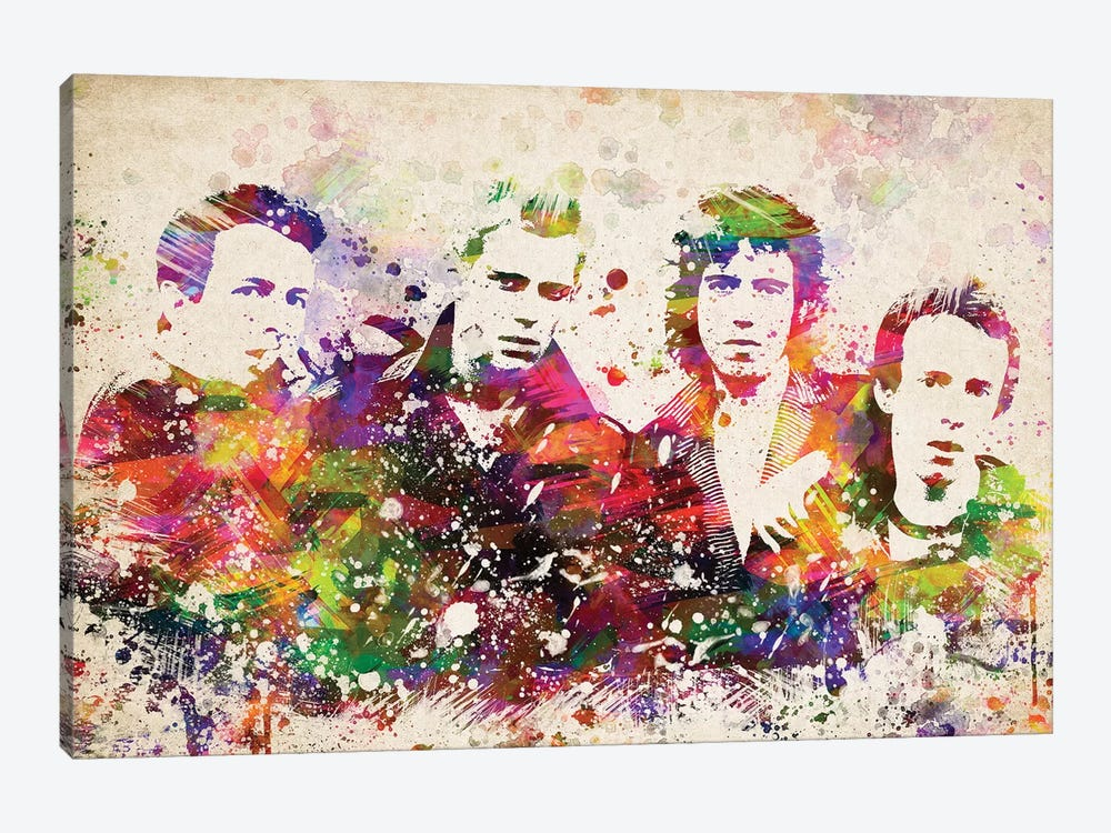 The Clash by Aged Pixel 1-piece Canvas Wall Art