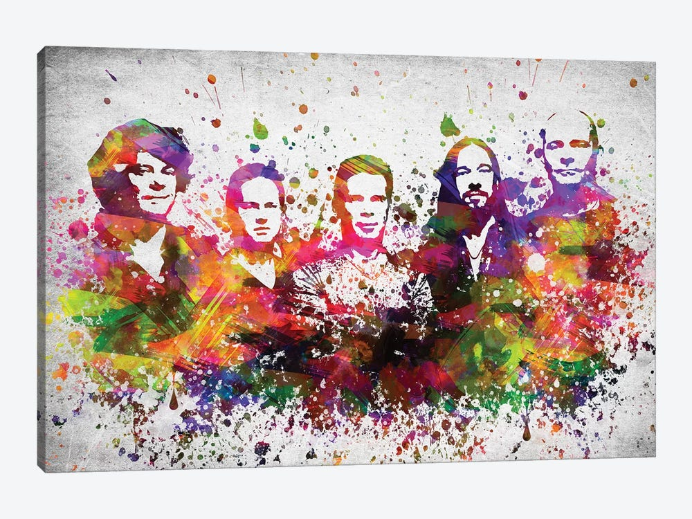 The Hip by Aged Pixel 1-piece Canvas Artwork