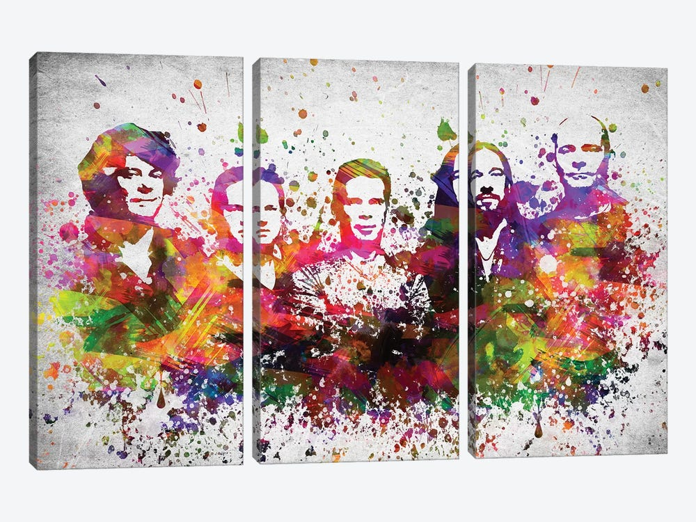 The Hip by Aged Pixel 3-piece Canvas Art