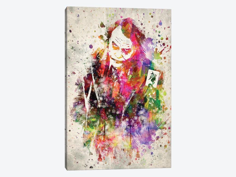 The Joker (Heath Ledger) by Aged Pixel 1-piece Canvas Print