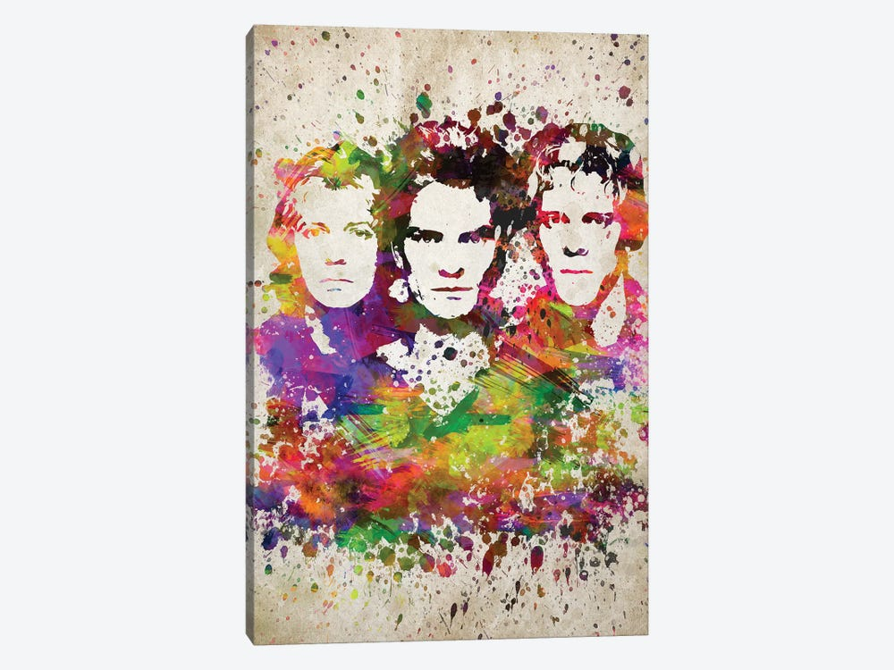 The Police by Aged Pixel 1-piece Canvas Print