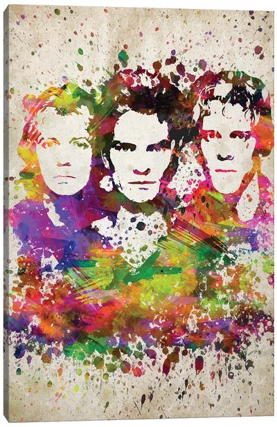 The Police Canvas Art Print