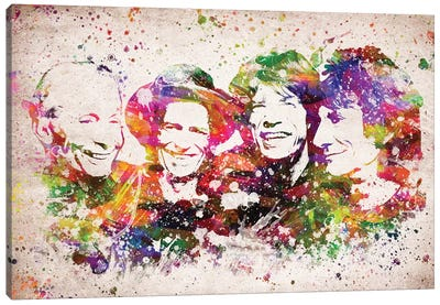 The Rolling Stones Canvas Art Print