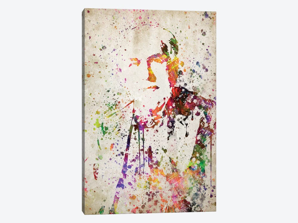 Thomas Edison by Aged Pixel 1-piece Canvas Art Print