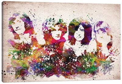 Led Zeppelin Canvas Art Print