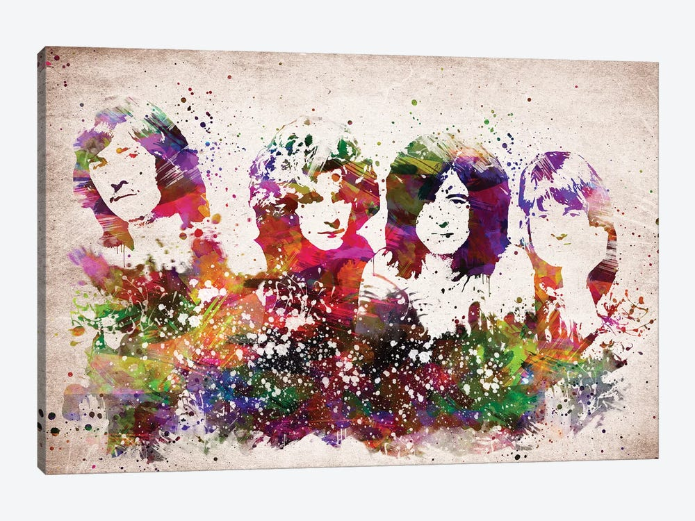 Led Zeppelin by Aged Pixel 1-piece Canvas Print