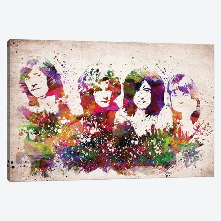 Led Zeppelin Canvas Print #ADP3168} by Aged Pixel Canvas Wall Art