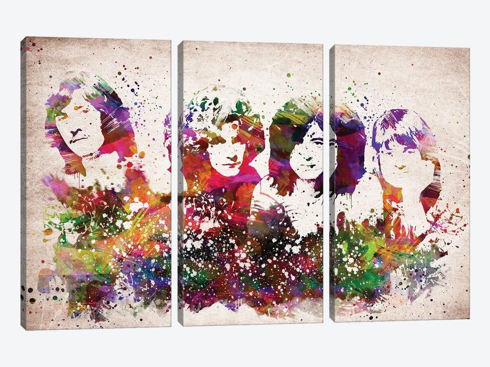 Led Zeppelin by Aged Pixel 3-piece Art Print