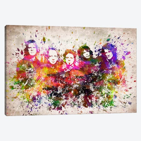 Aerosmith Canvas Print #ADP3170} by Aged Pixel Art Print