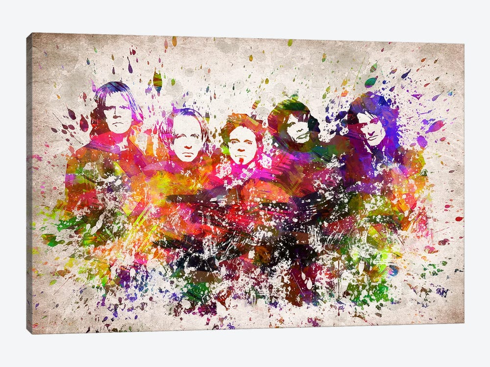 Aerosmith by Aged Pixel 1-piece Canvas Art