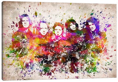 Aerosmith Canvas Art Print