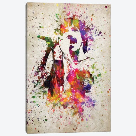 Anthony Kiedis Canvas Print #ADP3172} by Aged Pixel Canvas Art Print