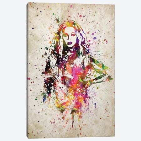 Beyonce II Canvas Print #ADP3175} by Aged Pixel Canvas Wall Art
