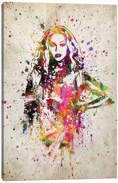 Beyonce II Canvas Art Print