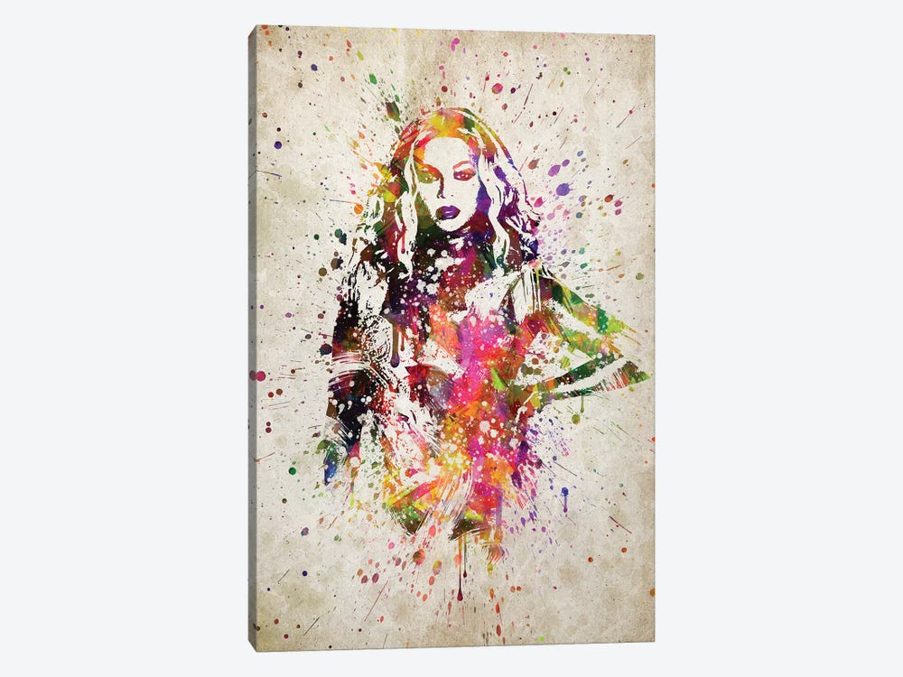 Beyonce II by Aged Pixel 1-piece Canvas Print