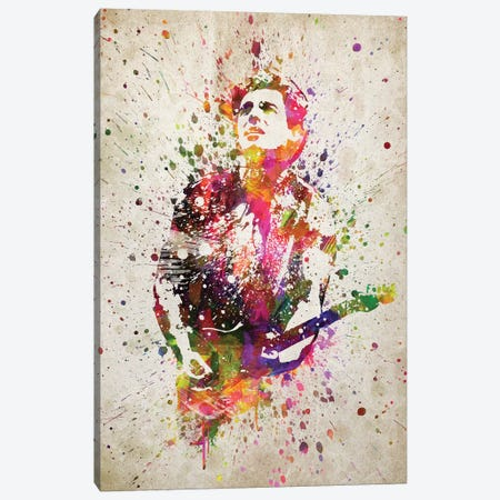 Bruce Springsteen Canvas Print #ADP3176} by Aged Pixel Canvas Art