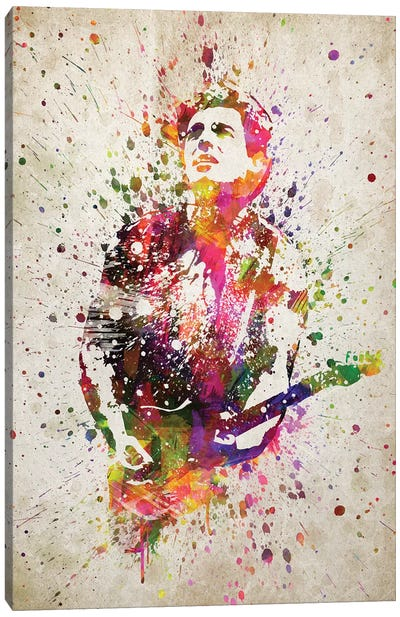 Bruce Springsteen Canvas Art Print